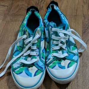 Used Coach tennis shoes size 9B